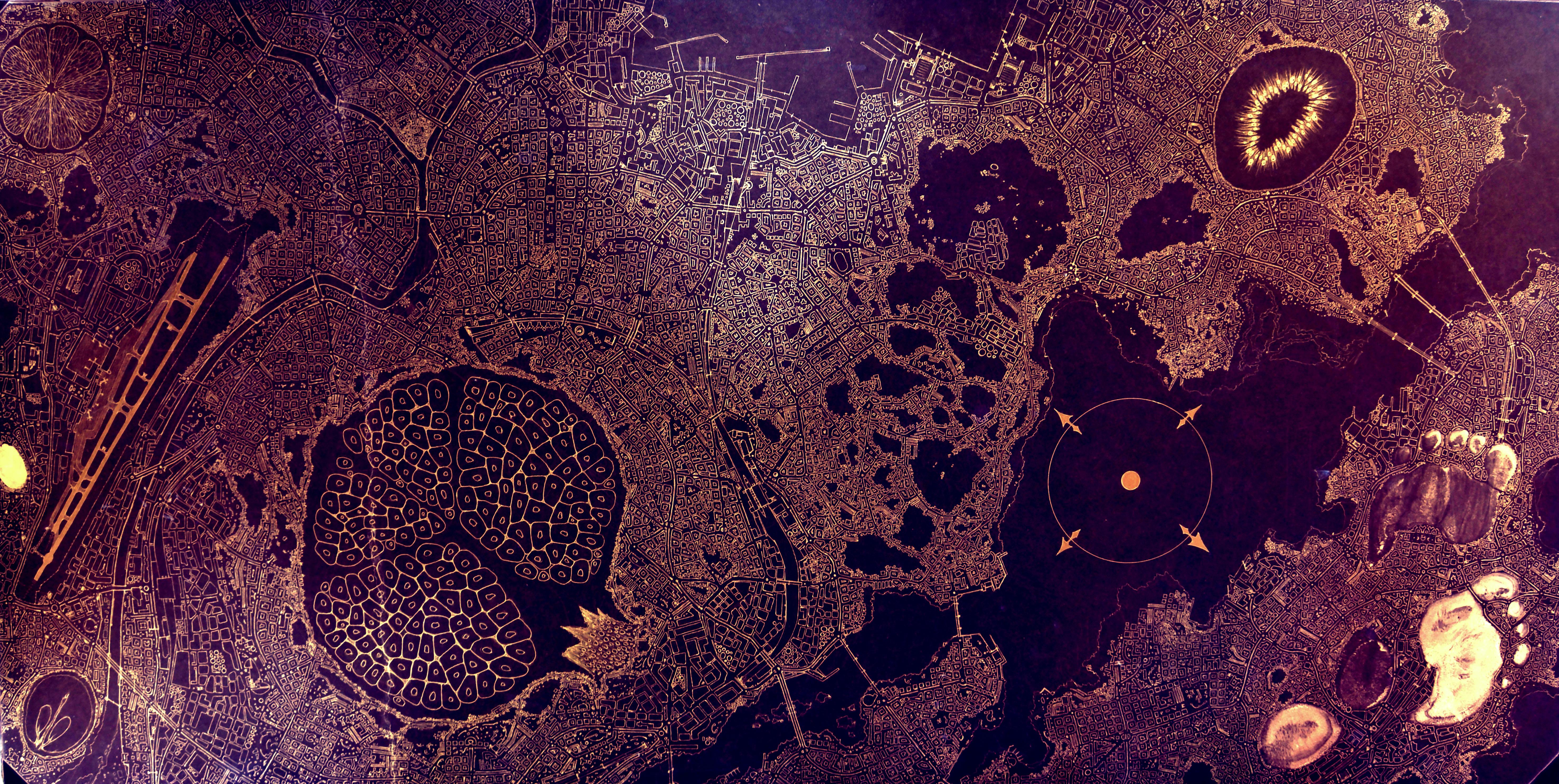 Bodegón urbano inv.. 120x60cm
