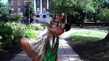 Hindu Groom Dipping his Bride