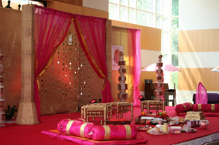 Lovely Stage for Hindu Wedding