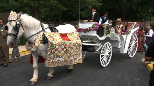Baraat with Carriage