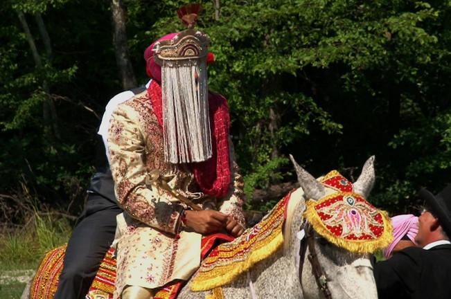 Groom Baraat on Horse
