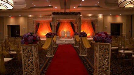 Lovely Wedding Stage