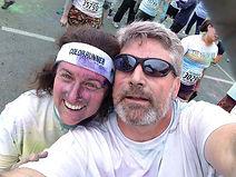 Paul and Nancy at Color Run