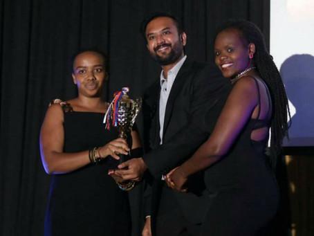 Cluster member named Kenya's 'Social Founder of the Year'