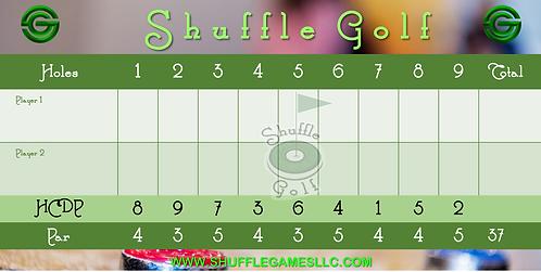 ShuffleGolf scorecards