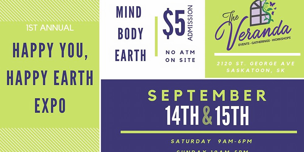 Heart Songs at Happy You, Happy Earth Expo, 1-3pm Sat/Sun Sept 14/15