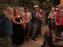 Shaun's gathering, Arthur, Ave, Bruce, B