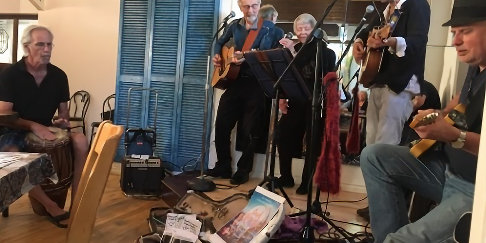 Heart Song Sing & Play Alongs with Brian Paul D.G. and Friends at D'Lish by Tish Cafe (1)