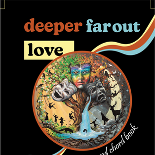 """lyric and chord book for """"deeper far out love"""" and """"something new"""" in one booklet!"""