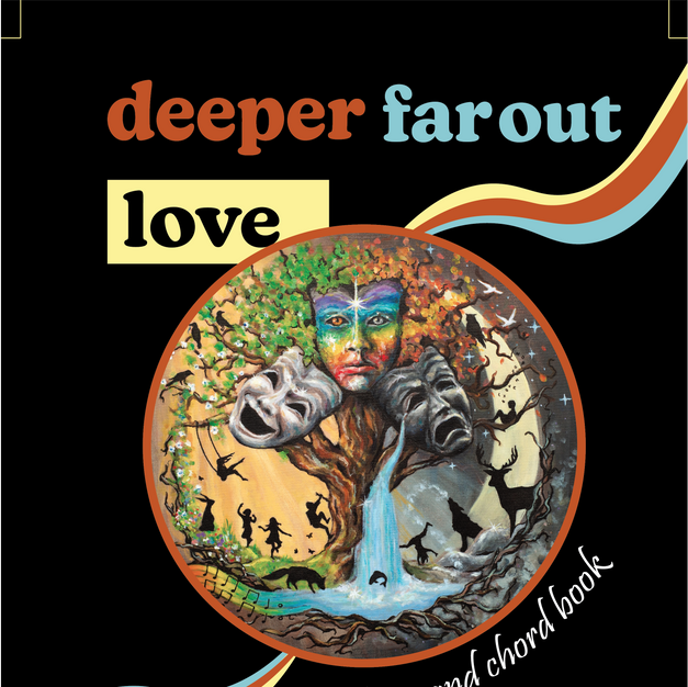 lyric and chord book for deeper far out love and something new in one booklet!