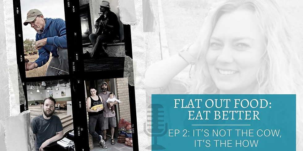 Flat out food interview with a heart song conclusion! (facebook live event)