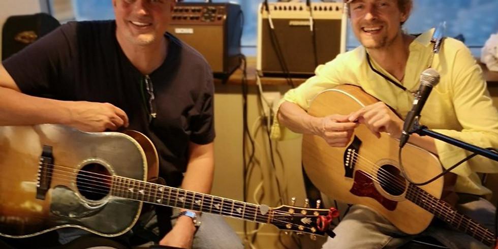 Live at Home Quarter Cafe, Brian Paul D.G. and Evert Van Olst