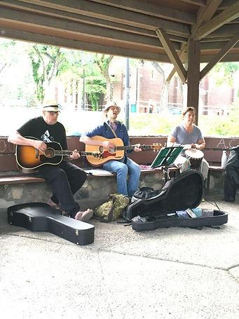 Evert, Brad and Brian, Heartsongs, June