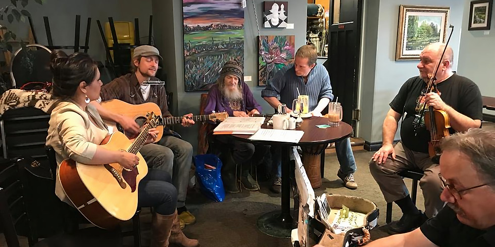 Brian Paul D.G. and Friends in Prince Albert, Sk at Shananigan's Cafe