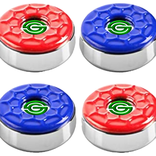 Shuffle Games Logo Pucks