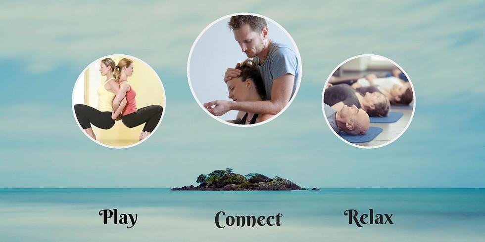 Partner Yoga & Massage Workshop For Couples