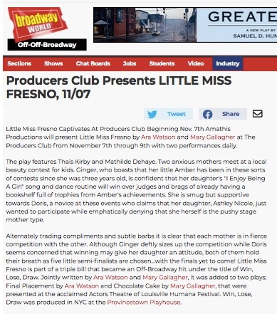Little Miss Fresno