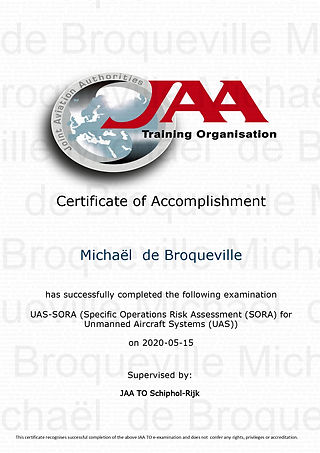 Certificate of Accomplishment - M.de Bro
