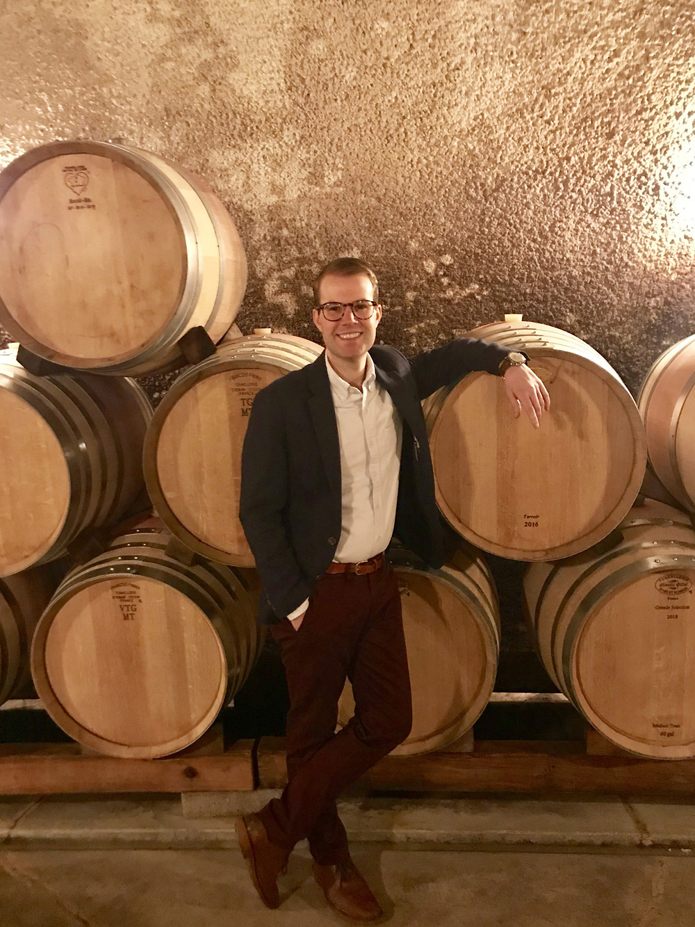 Sommelier Mike Woeste is a certified wine expert.