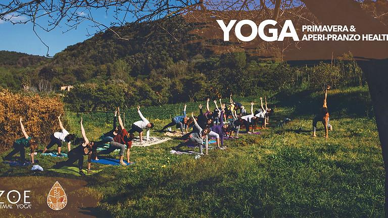 Yoga, primavera e aperi-pranzo healthy alla Tenuta Kerao