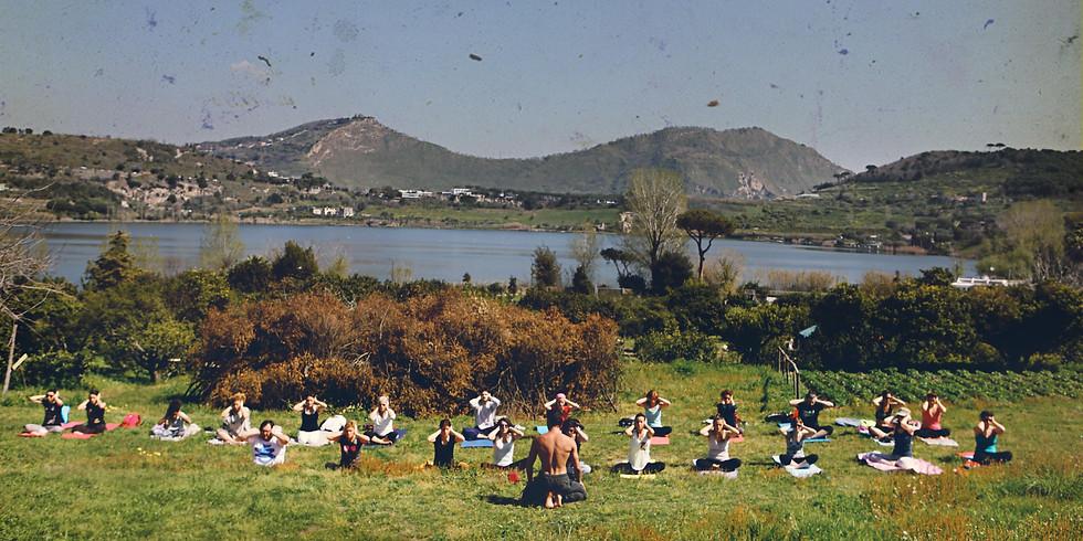 Yoga, primavera e aperitivo biologico al Giardino dell'Orco