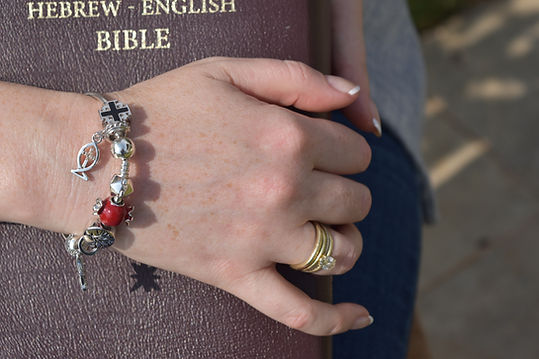 Faith charms-Bracelet with different charms