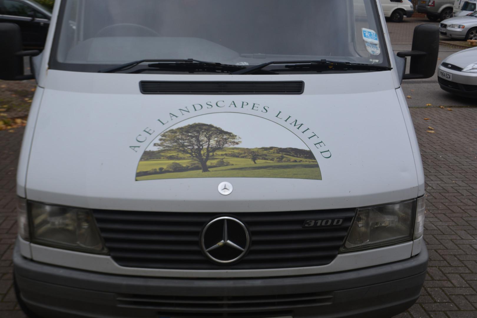 ACE Landscapre Limited vehicle graphics