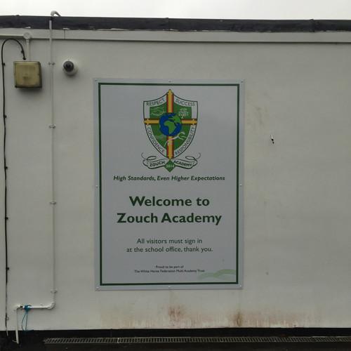 Zouch Academy external sign
