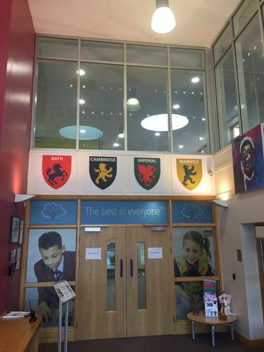 Swindon Academy wall graphics