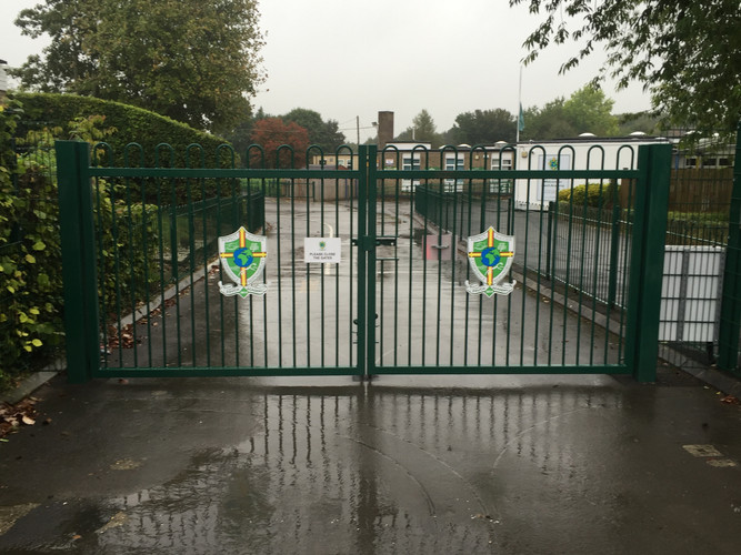 Zouch Academy external gate signs