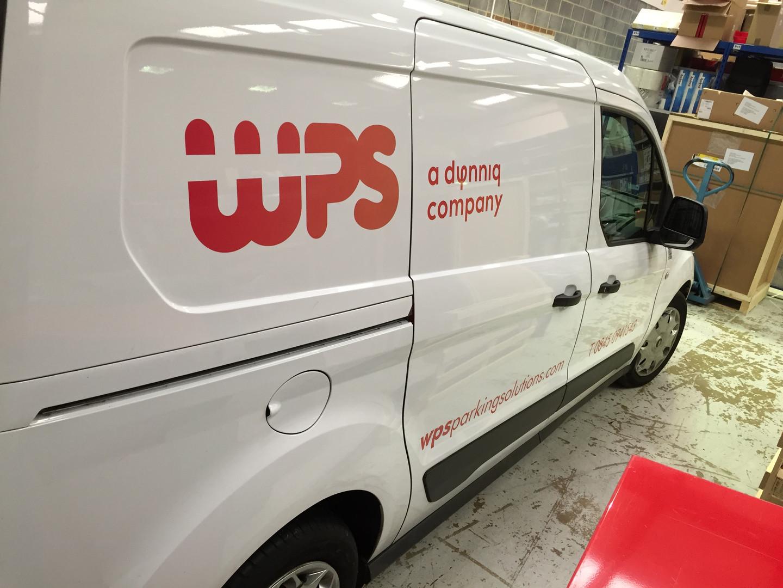 WPS vehicle graphics