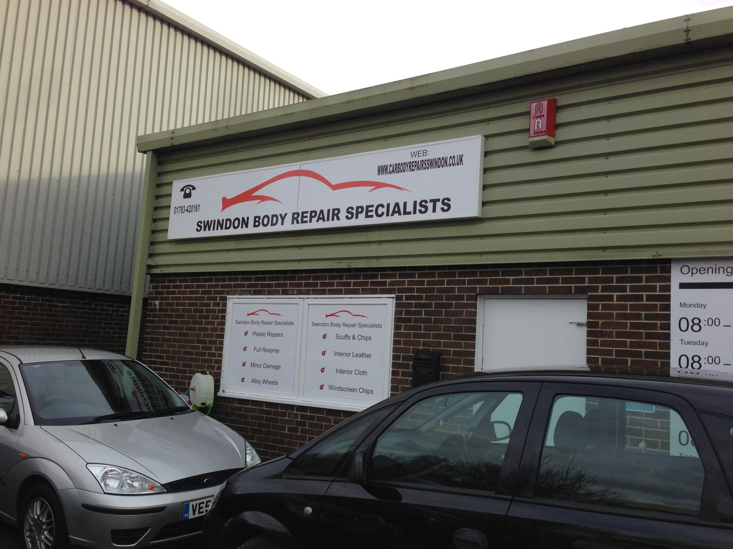 Swindon Body Repair Specialists external signs