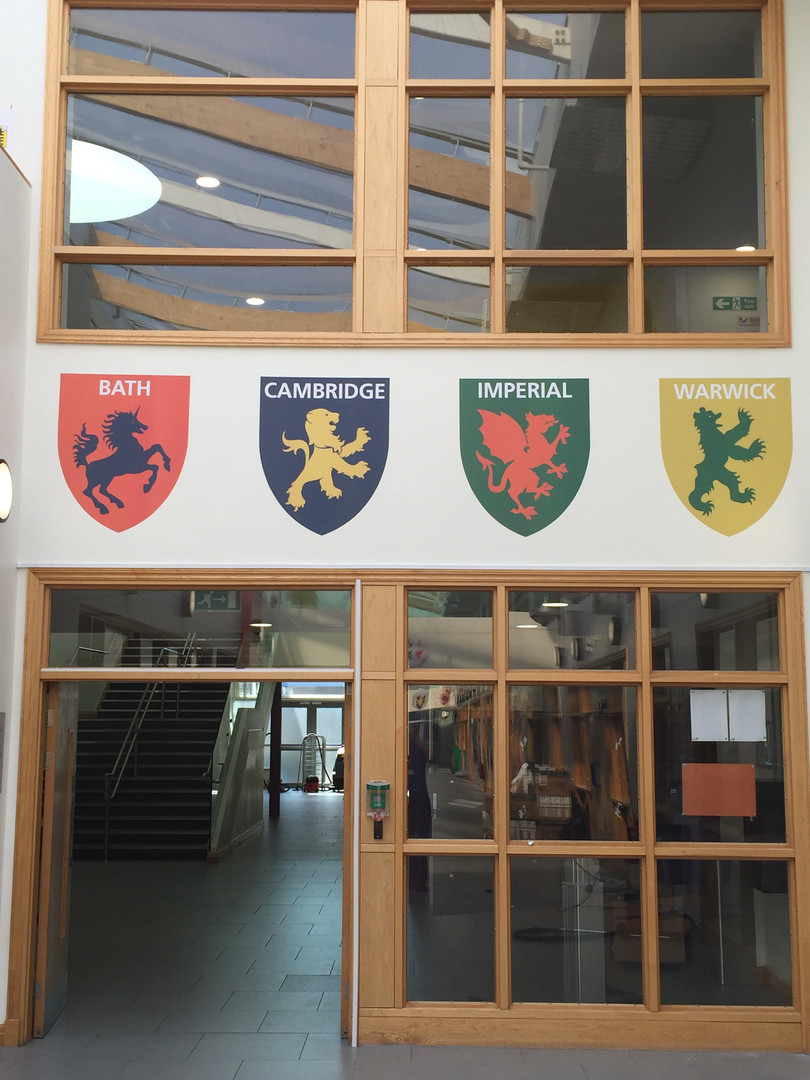 Swindon Academy wall graphics
