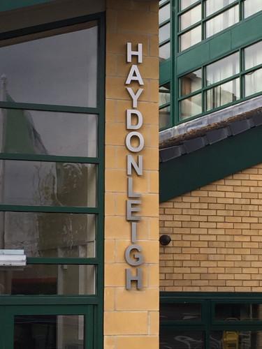 Haydonleigh School external sign