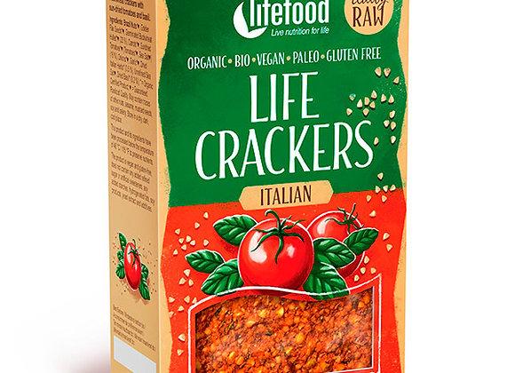 Raw Crackers 90g, Italian Style - Økologisk & Raw
