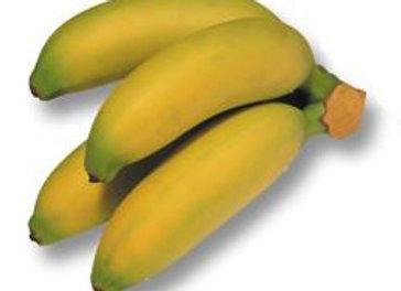 Bananito i pose - 300-400g (4-6 stk.), Equador