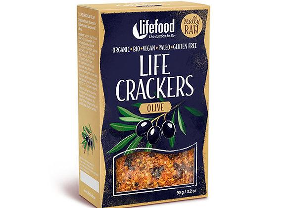 Raw Crackers 90g, Oliven - Økologisk & Raw