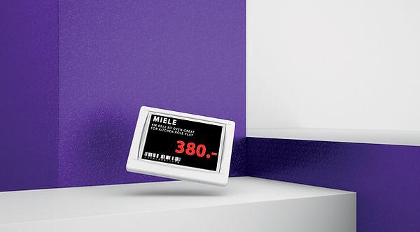 Электронный ценник G1 retail 4.2 red NFC