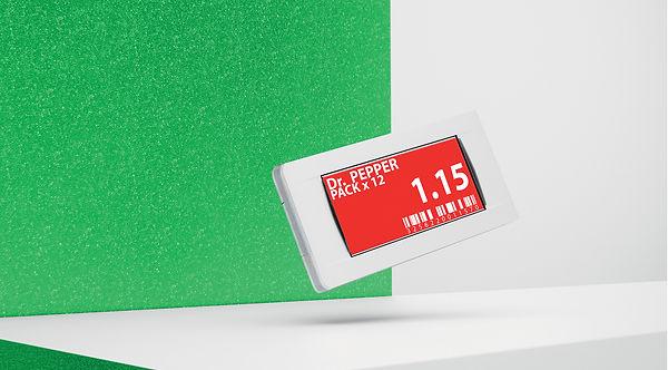 Электронный ценник G1 retail 2.2 red NFC
