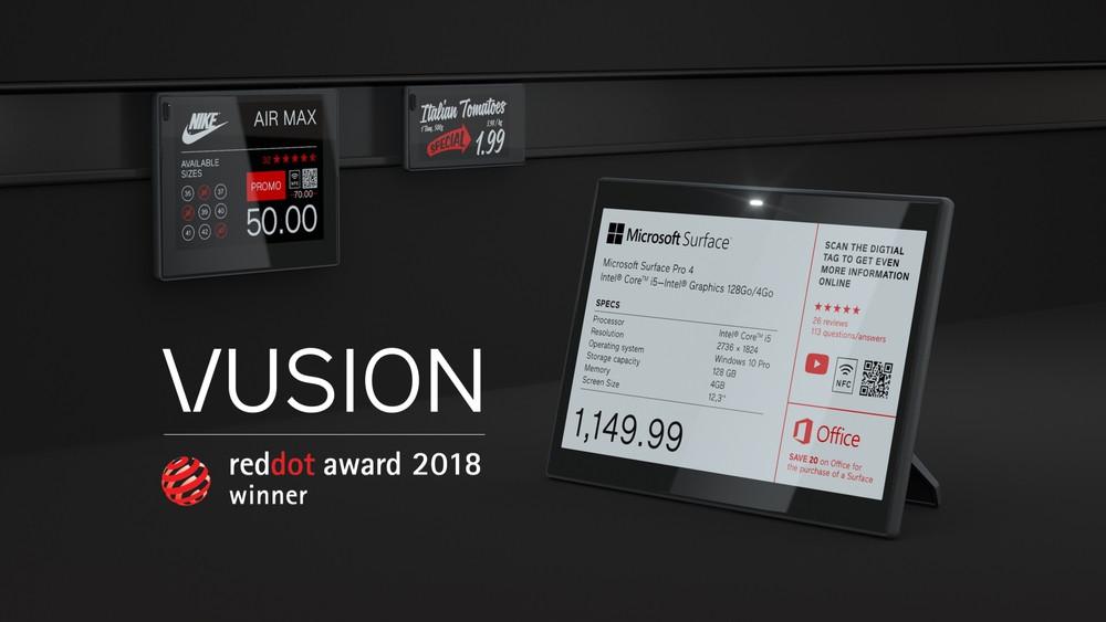 Электронные ценники | SES-imagotag | Red Dot Awards