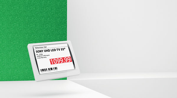 Электронный ценник G1 retail 4.4 red NFC