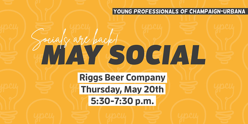 May Social at Riggs Beer Company