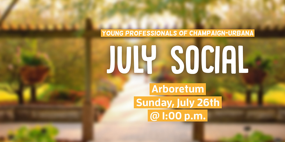 July Social at Arboretum Public Garden