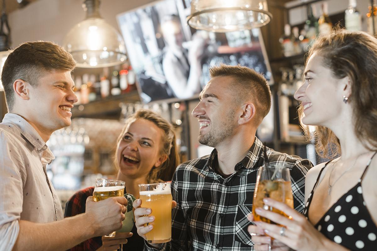 Socializing at a Bar