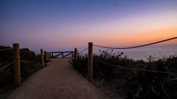 Malibu Path to Sunset
