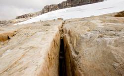 Crack in El Nevado del Cocuy