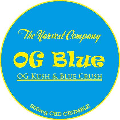 The Harvest Company OG Blue 800mg CBD Crumble
