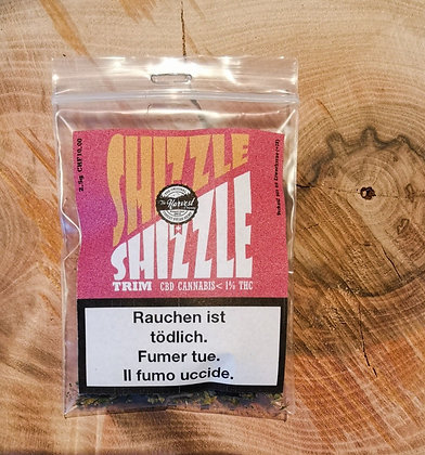 "CBD-Cannabis Trim Shizzle Shizzle ""Mango"""
