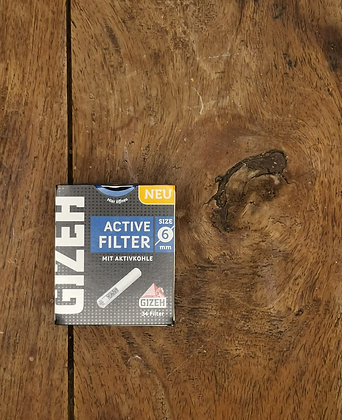 GIZEH Active Filter 34Stk. 6mm