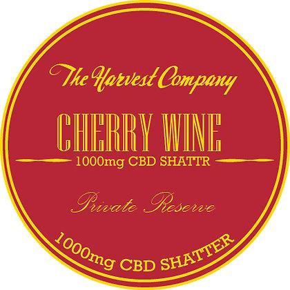 The Harvest Company Cherry Wine 1000mg CBD Shatter